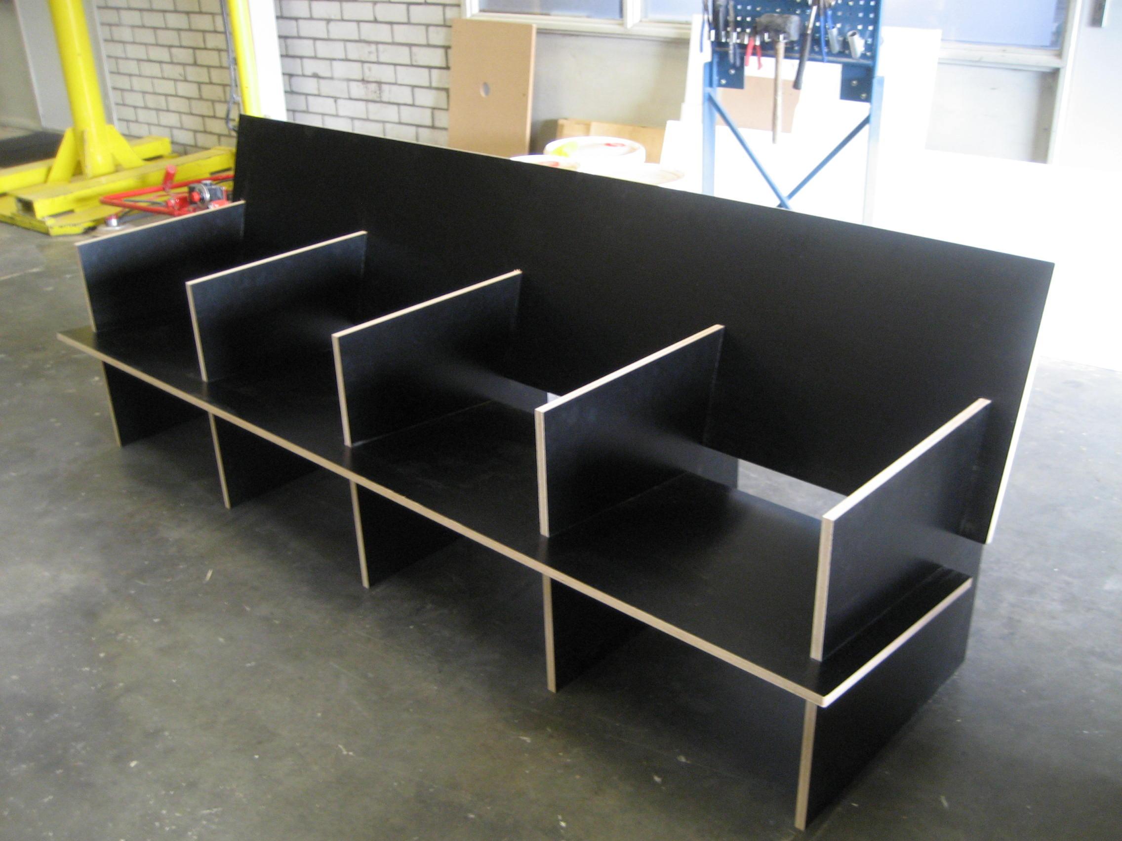 Zaag en freeswerk meubels co make - Scheiding meubels ...