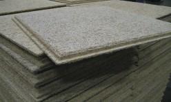 Plafondplaten van houtwol
