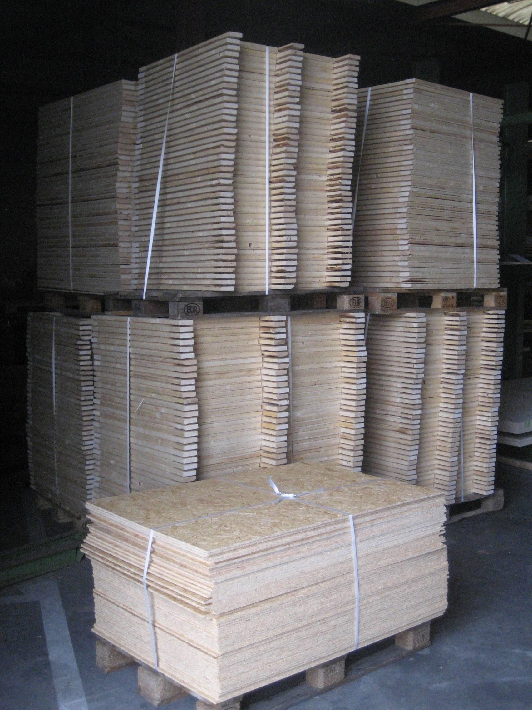 Onderdelen kisten