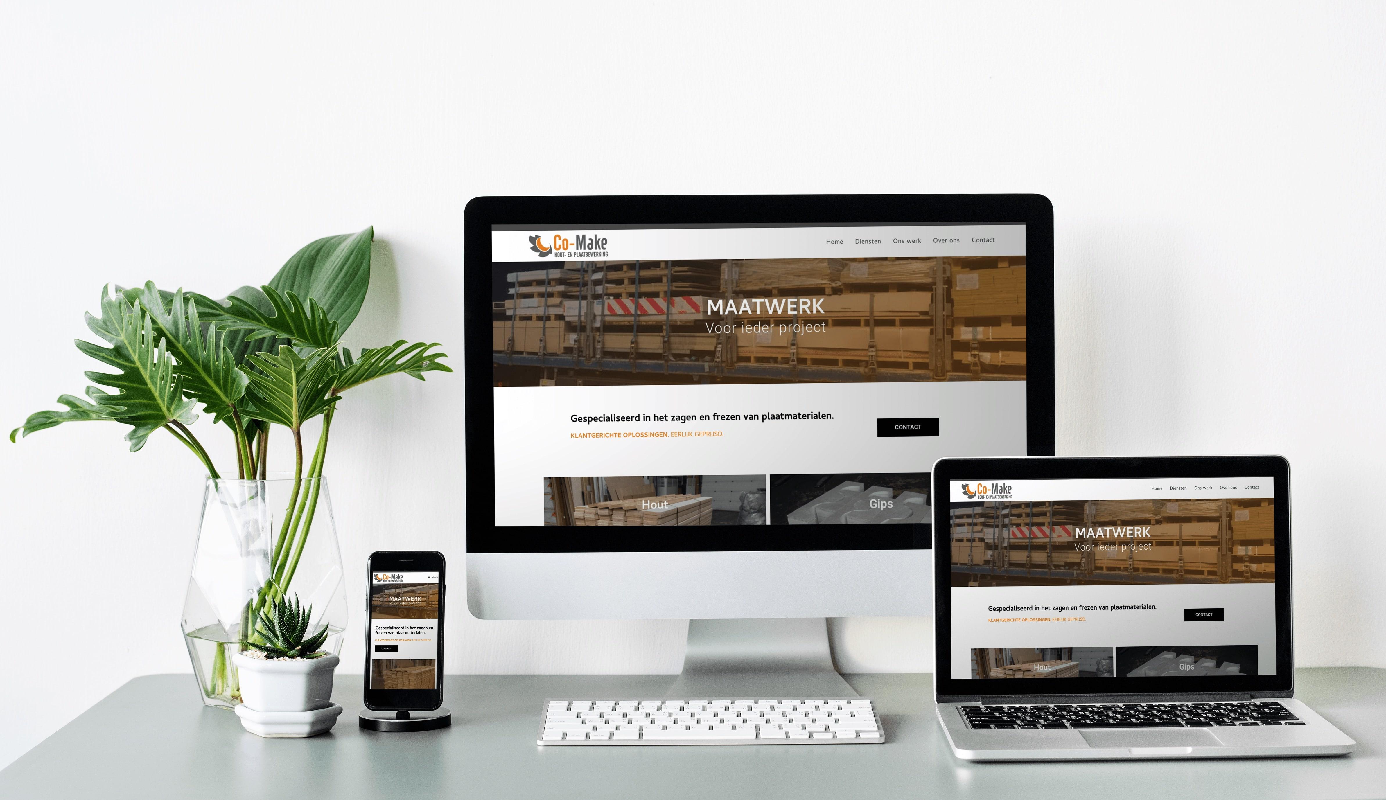 Welkom op de nieuwe website van Co-make!